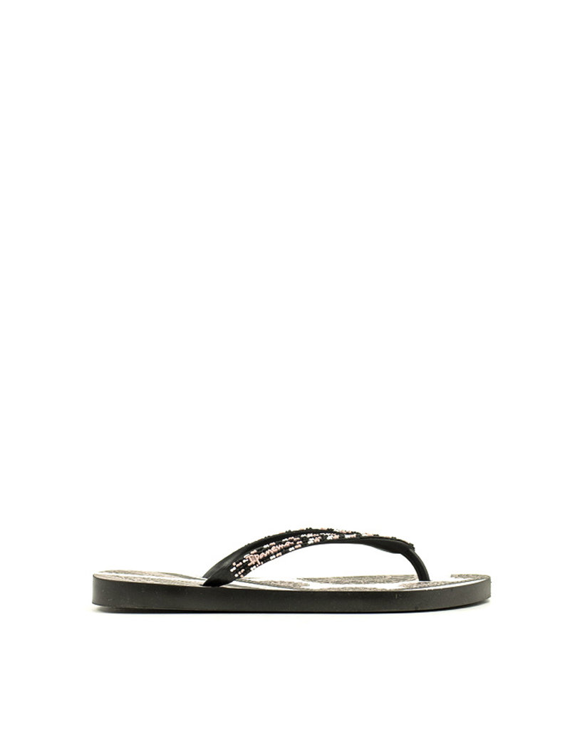 Ipanema Ipanema 82660-20766 Beaded Flip Flop  Black