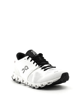 On Cloud X Runner White/Black