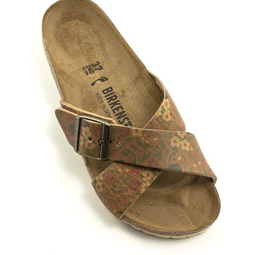 Birkenstock Birkenstock Siena II Sandal Vintage Flowers Cognac