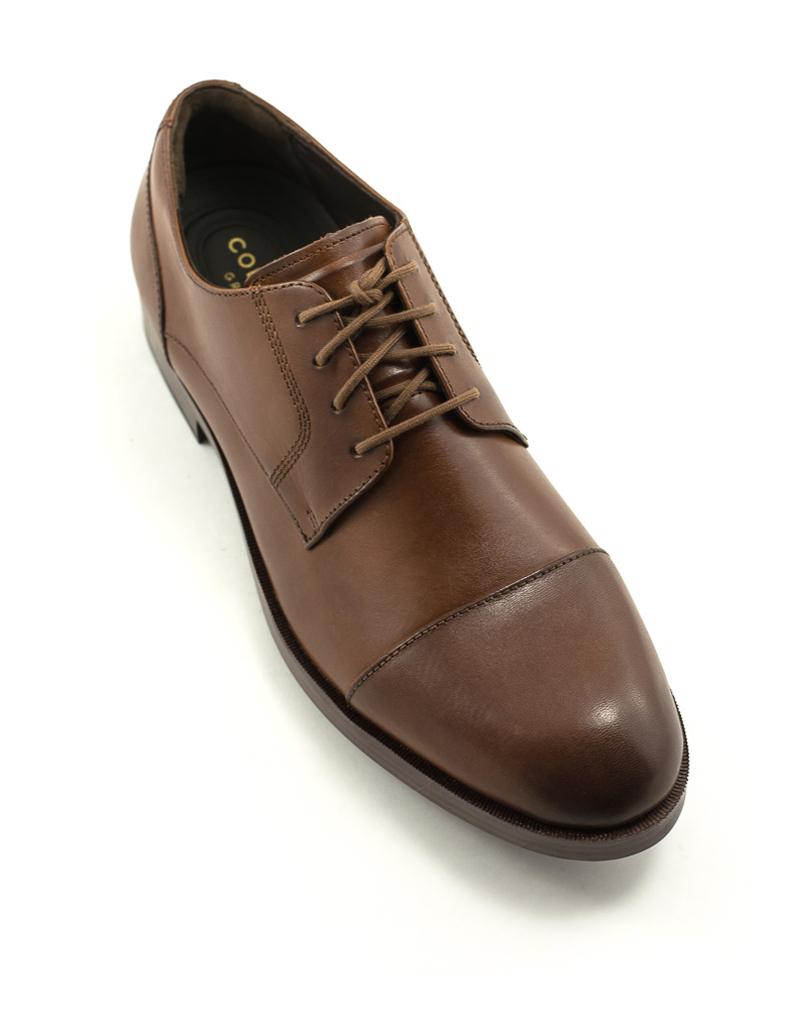 Cole Haan Men's Cole Haan Henry Grand Cap Toe Shoe British Tan/Dk Natural
