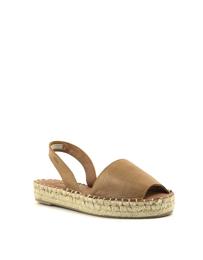 Alohas Ibizas Platform Sandal Camel