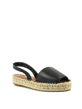 Alohas Ibizas Platform Sandal Black