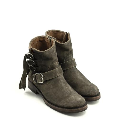 Frye Frye Veronica Strap Short Boot Faded Black