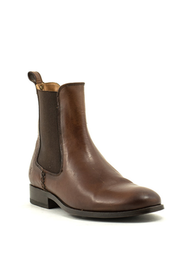 Frye Melissa Chelsea Boot Redwood