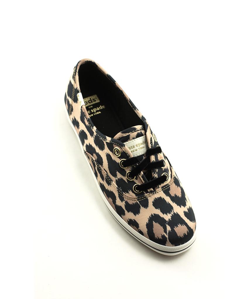 Keds Keds Champion KS Leopard Satin Sneaker