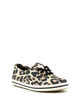 Keds Champion KS Leopard Satin Sneaker