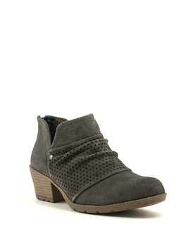 Earth Origins Amanda Bootie Grey Suede