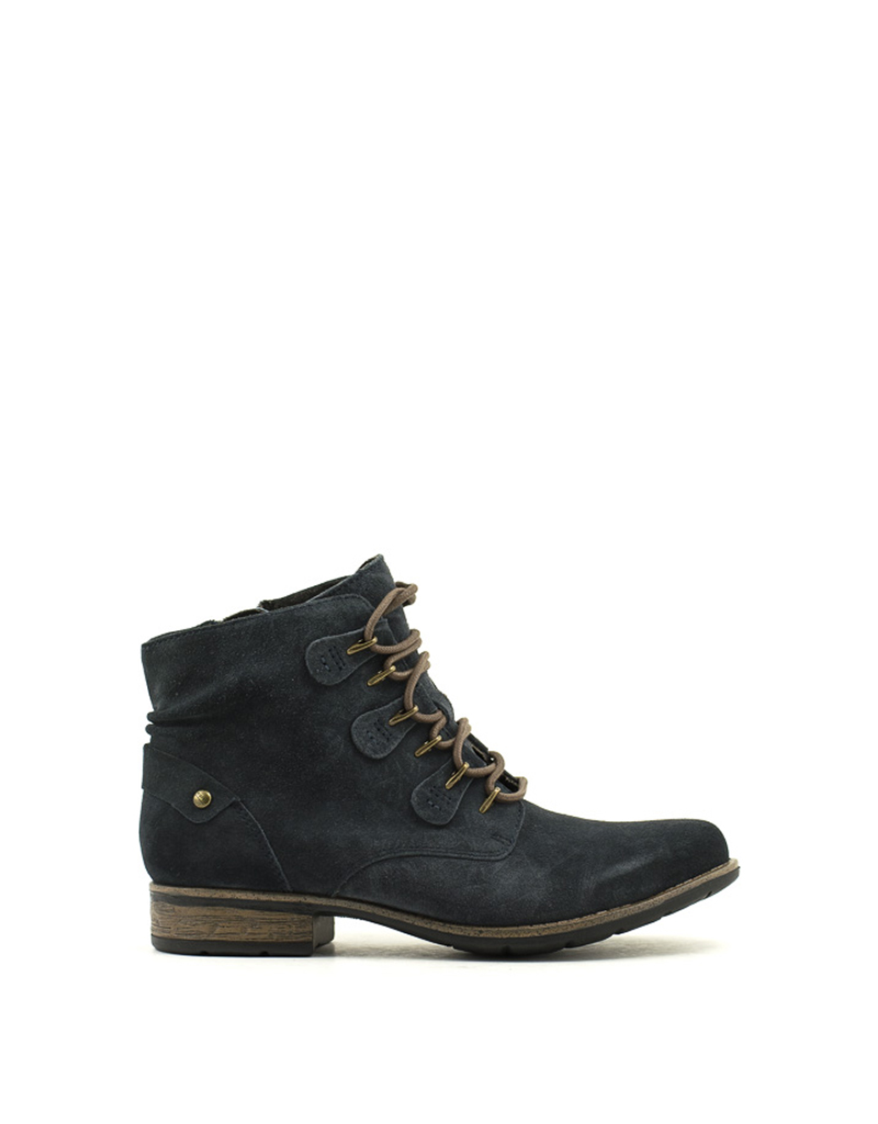 Earth Earth Origins Avani Bahn Boot Deep Navy Suede