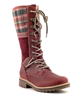 Bos & Co Holiday Boot Red/Sangria
