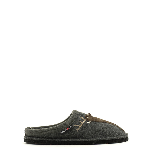 Haflinger Haflinger Deer Slipper Grey
