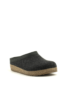 Haflinger Grizzly Slipper Charcoal