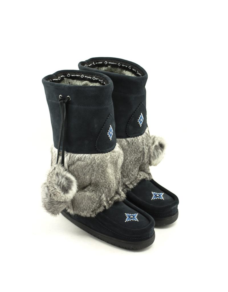 Manitobah Manitobah Snowy Owl Waterproof Mukluk Suede Navy
