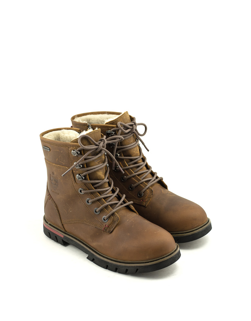 Royal Canadian Men's Royal Canadian King Street Waterproof Boot Brown