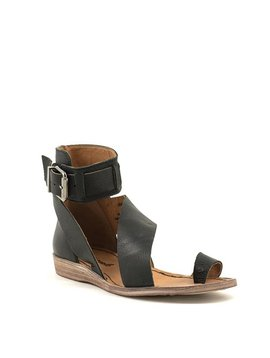 Free People Vale Boot Sandal Black
