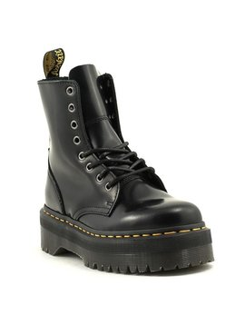 Dr. Martens Jadon Polished Smooth Boot Black