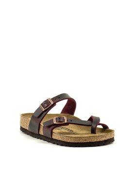 Birkenstock Mayari Waxy Leather Regular Width Zinfandel