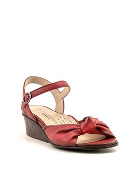 Unity in Diversity Isadora Sandal Red