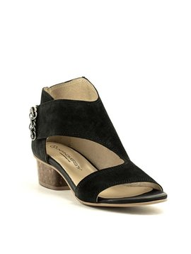 Unity In Diversity Sugarplum Sandal Black Suede