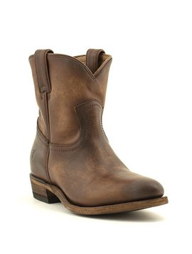 Frye Billy Short Western Boot Cognac