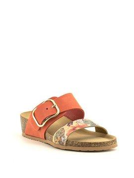 Bos & Co Lapo Sandal Mandarin Print