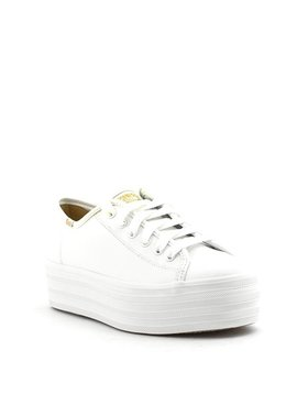Keds Triple Up Leather Sneaker White