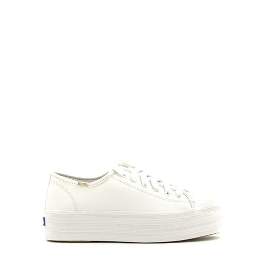 Keds Keds Triple Up Leather Sneaker White