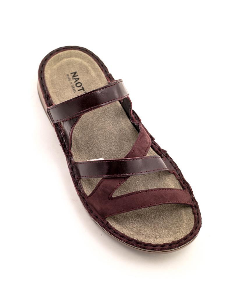 Naot Anadia Sandal Bordeaux Comb