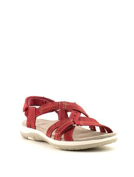 Earth Savoy Sammie Sandal Red Pepper
