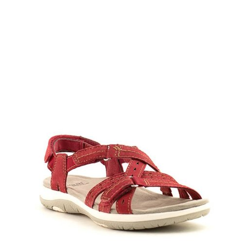 Earth Earth Savoy Sammie Sandal Red Pepper