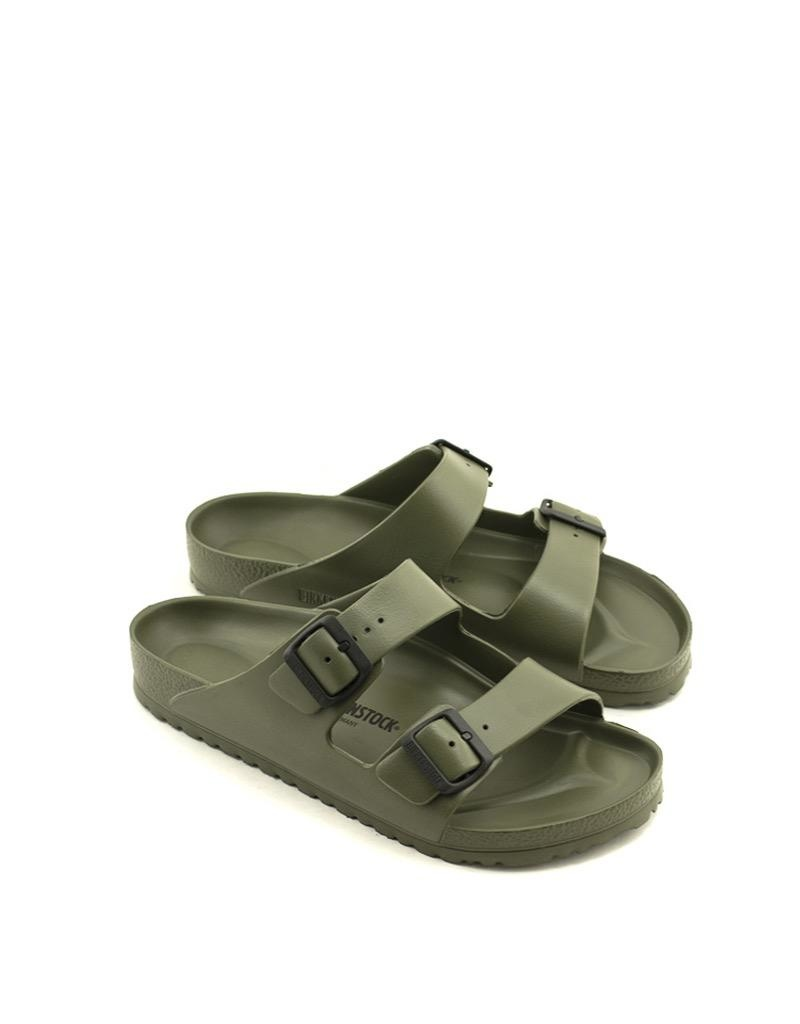 Birkenstock Men's Birkenstock Arizona EVA Sandal Regular Width Khaki