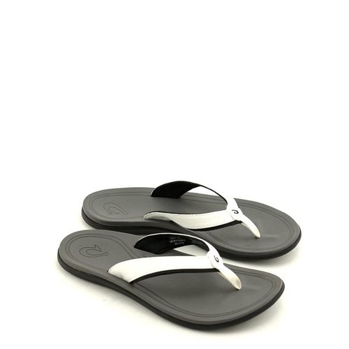 Olukai Olukai Punua Sandal White/Charcoal