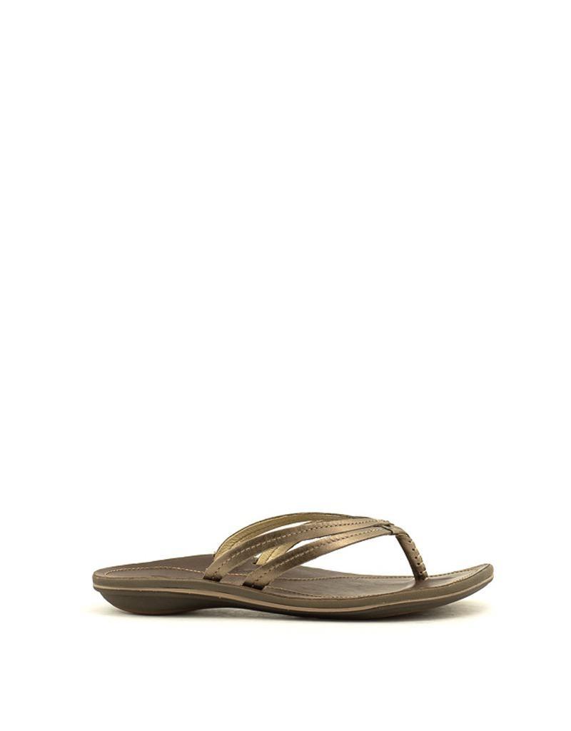 Olukai Olukai U'i Sandal Bronze/Dk Java