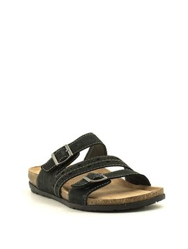 Earth Earth Orono Felix Sandal Black