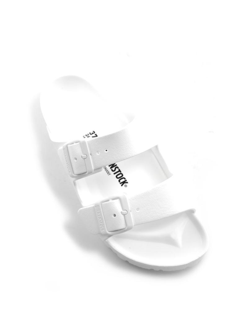 Birkenstock Birkenstock Arizona EVA sandal narrow white