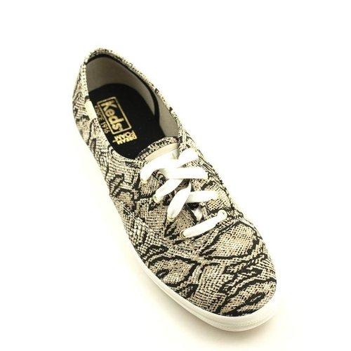 Keds Keds Champion Snake Sneaker Cream/Blk