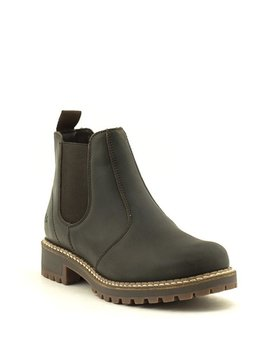Bos & Co Callen Waterproof Chelsea Boot Dark Brown