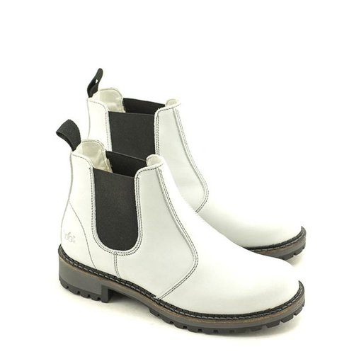 Bos & Co Bos & Co Callen Waterproof Chelsea Boot White