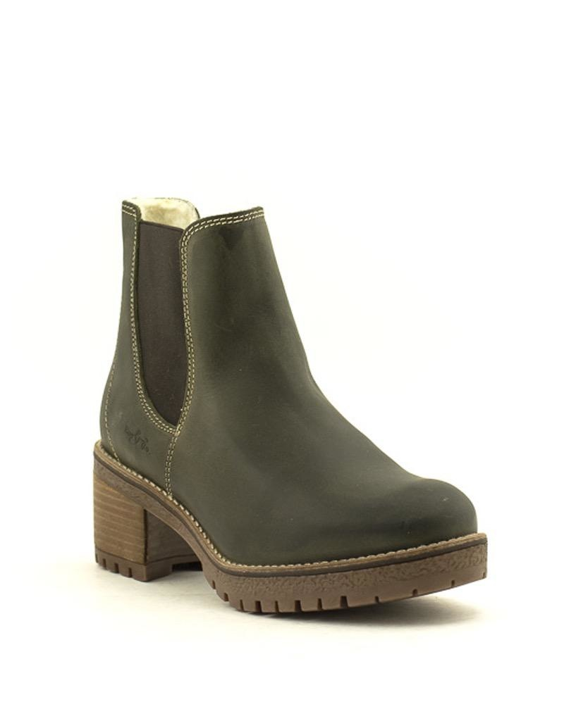 Bos & Co Bos & Co Masi Waterproof Chelsea Boot Olive