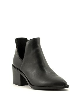Steve Madden Duran Boot Black Leather