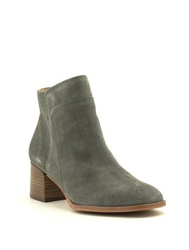 Lucky Brand Lilka Boot Gunmetal Suede