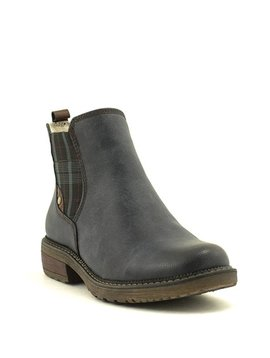 Relife 0717-14811B-45 Chelsea Boot Navy Waterproof