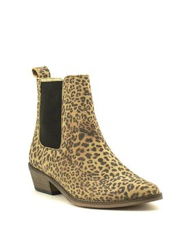Ivylee Copenhagen Stella Boot Split Leather Leopard