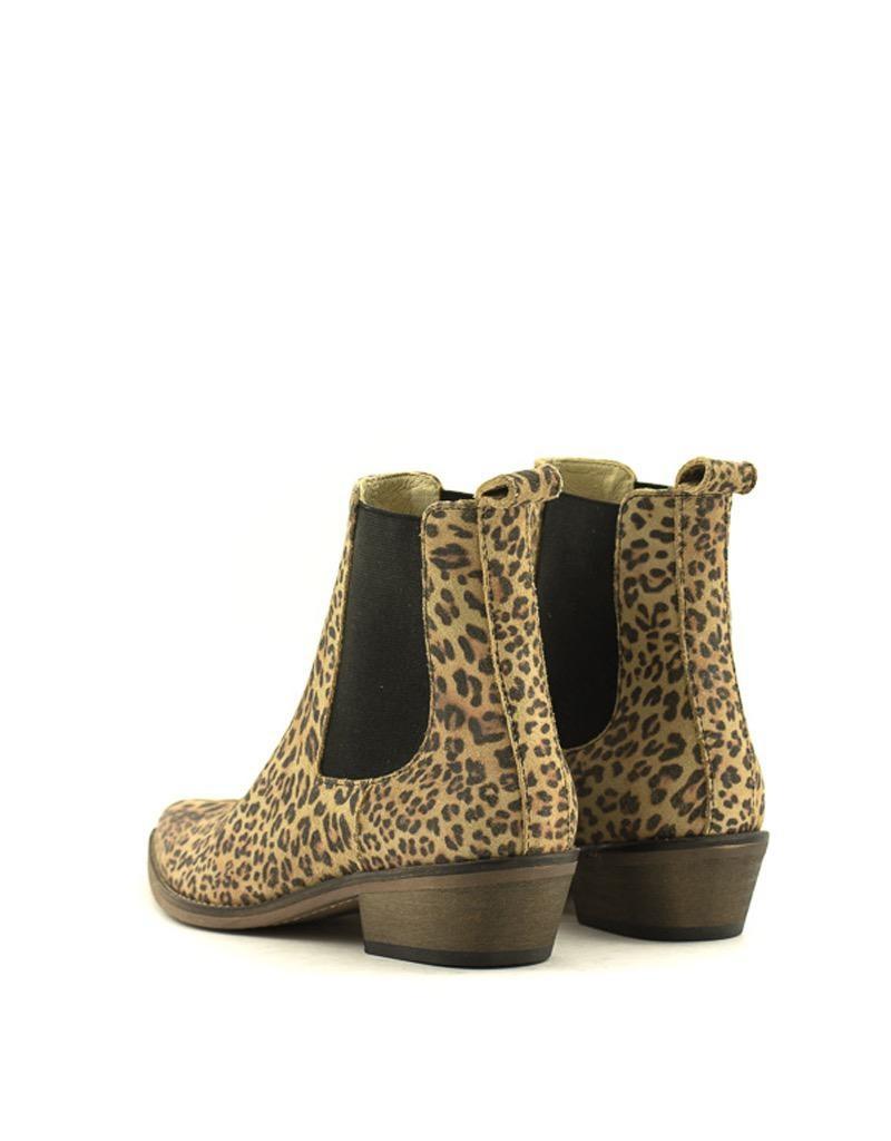 Ivylee Copenhagen Ivylee Copenhagen Stella Boot Split Leather Leopard