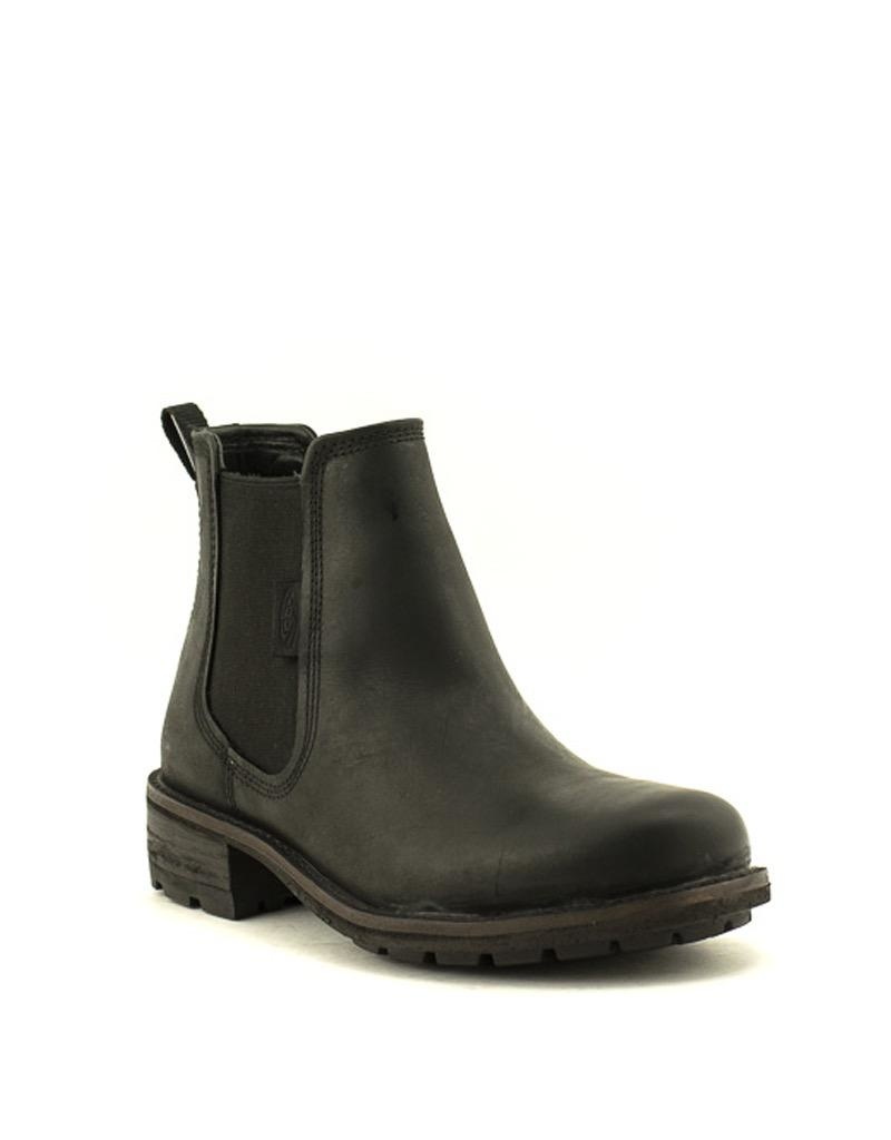 Keen Keen Oregon City Chelsea Boot Black/Toasted Coconut