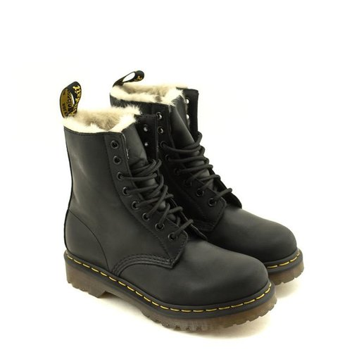 Doc Martens Dr. Martens 1460 Serena Burnished Wyoming Black