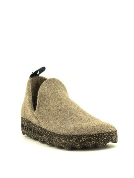 Asportuguesas City Slipper Taupe Tweed