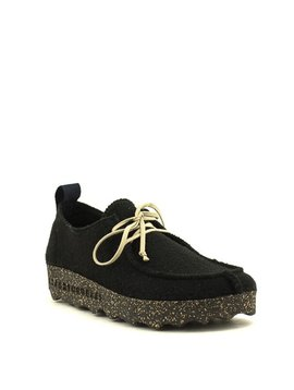Asportuguesas Chat Slipper Shoe Black