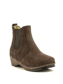 Troentorp Rockwell Chelsea Boot Brown Suede