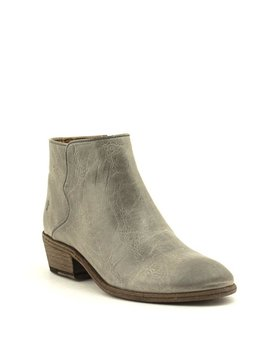 Frye Carson Piping Bootie Graphite