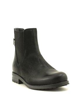 Bulle 17D324M Caster Chelsea Boot Black